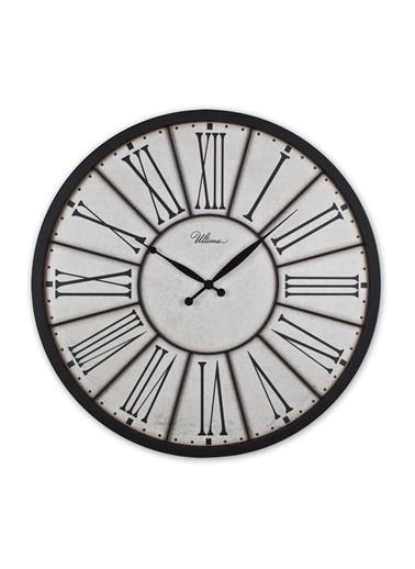 Ultima Regal Ultima Regal Ferforje Büyük Boy Roma Rakamlı Duvar Saati Renkli